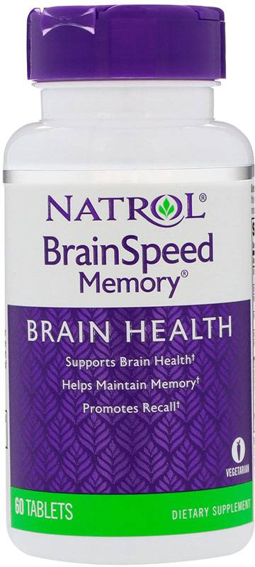 Brain Speed Memory Natrol 60 таб.