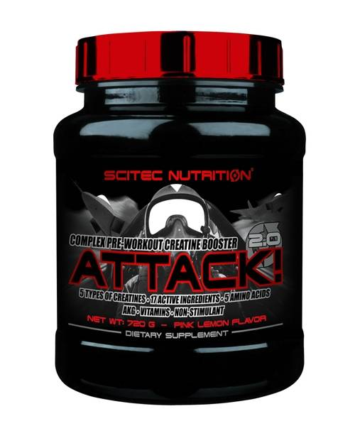 Attack 2.0 Scitec Nutrition 720 гр.