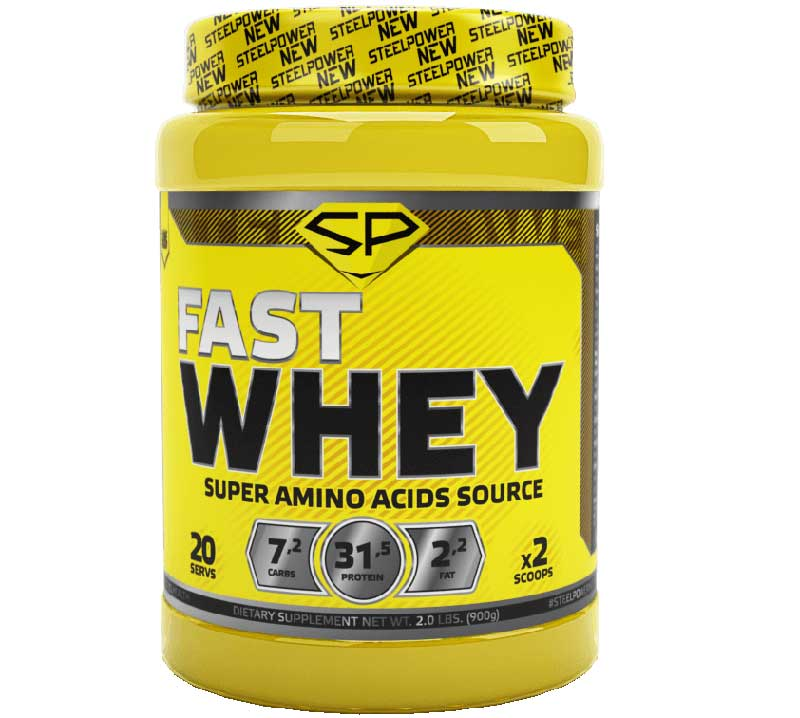 Fast Whey Protein Steel Power