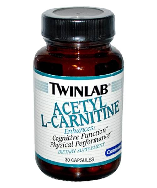 Acetyl L-Carnitine Twinlab 30 капсул
