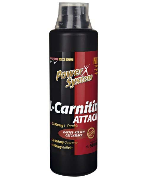 L-carnitine Attack Power System 500 мл.