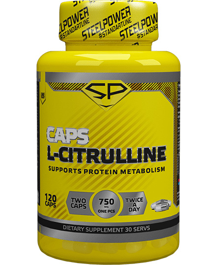 L-citrulline Caps Steel Power