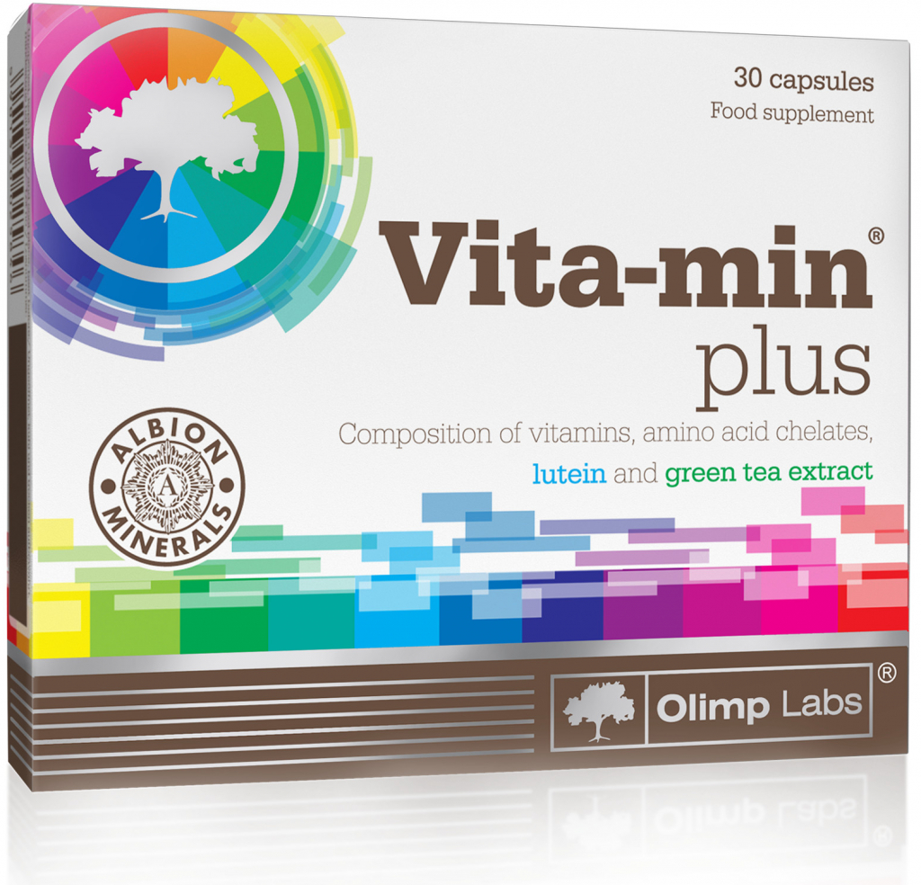 Vita-min Plus Olimp Sport Nutrition 30 капс.