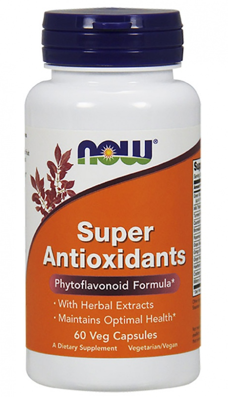 Super Antioxidants NOW 60 капс.