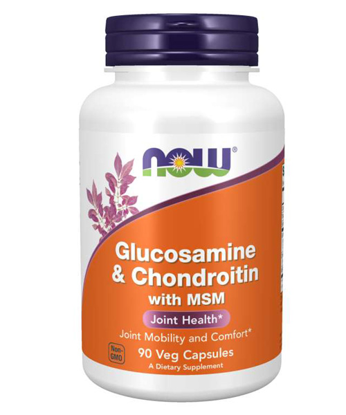 Glucosamine & Chondroitin With MSM NOW