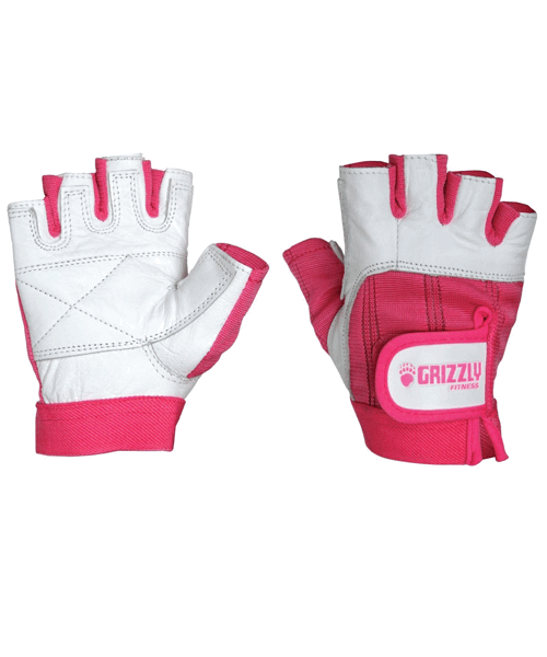 Womens Breast Cancer Gloves, Цвет Розовый/белый Grizzly