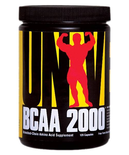 Bcaa 2000 Universal Nutrition 120 капс.