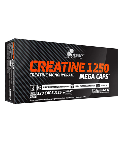 Creatine Mega Caps Olimp Sport Nutrition 120 капс.