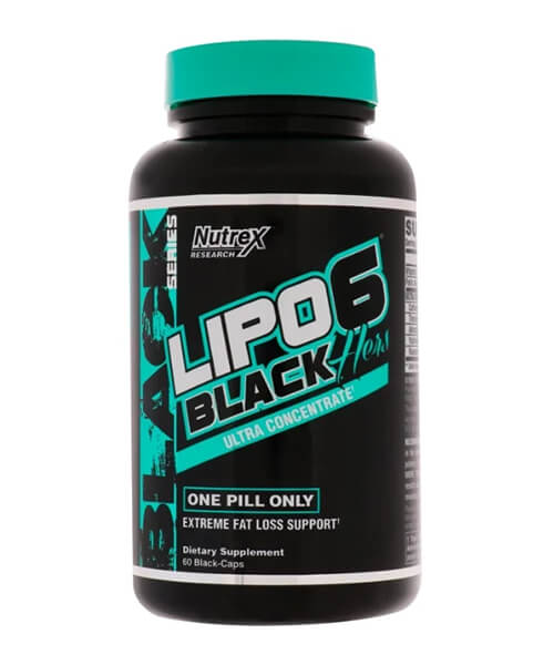 Lipo-6 Black Hers Ultra Concentrate Nutrex Research