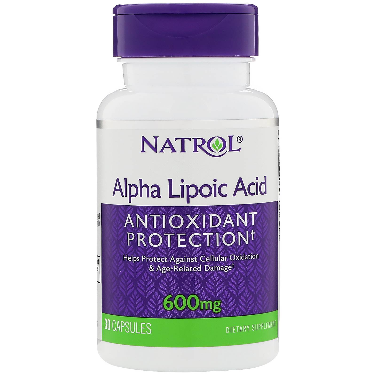 Alpha Lipoic Acid 600 mg Natrol 30 капс.