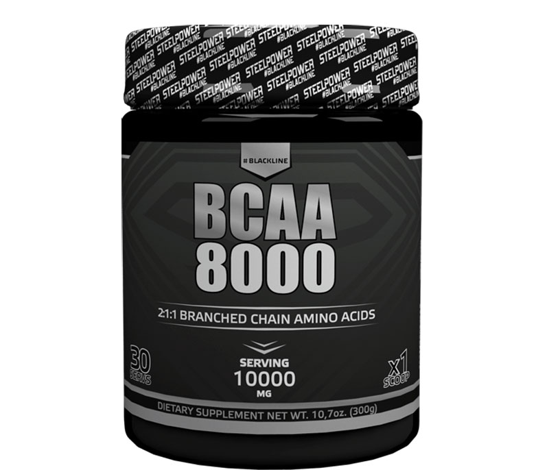 Black Line Bcaa 8000 Steel Power