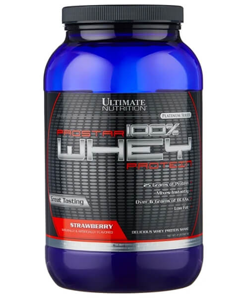 100% Prostar Whey Protein Ultimate Nutrition 907 г