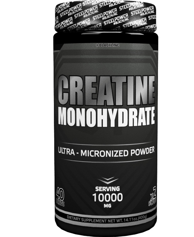 Creatine Monohydrate Steel Power