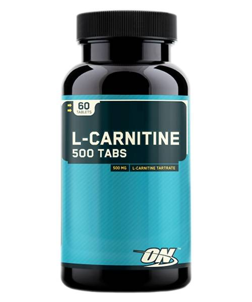 L-carnitine 500 Optimum Nutrition 60 таб.