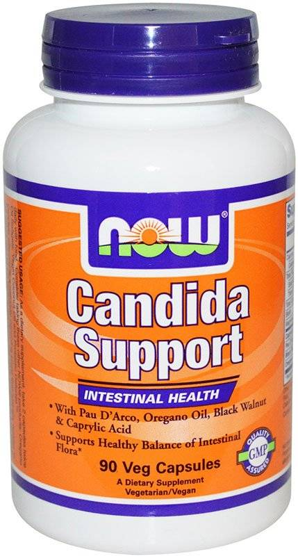 Candida Support NOW 90 капс.
