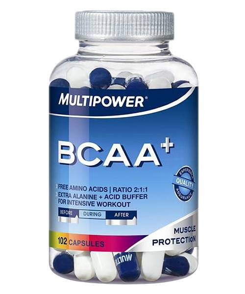 Bcaa+ Multipower 102 капс.