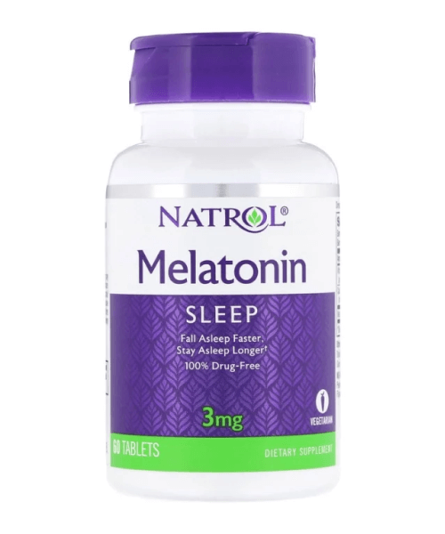 Melatonin 3 mg Natrol 60 таб.