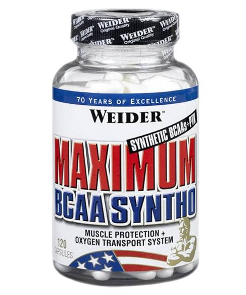 Maximum Bcaa Syntho Weider 120 капс.
