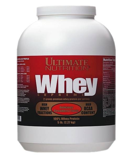 Whey Supreme Ultimate Nutrition 2270 гр.