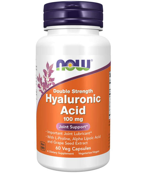 Hyaluronic Acid 100 mg NOW