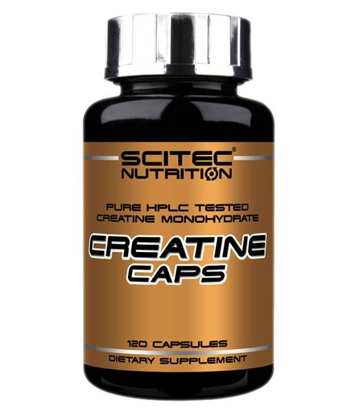 Creatine Caps Scitec Nutrition 120 капс.