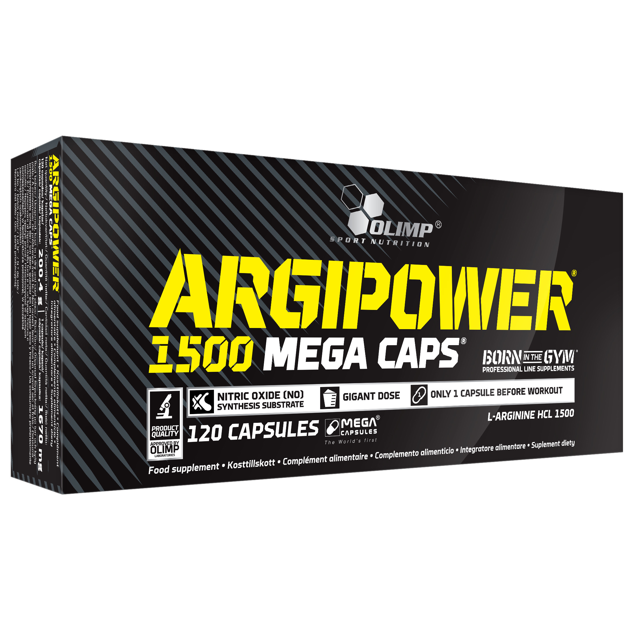 Argipower 1500 Mega Caps Olimp Sport Nutrition