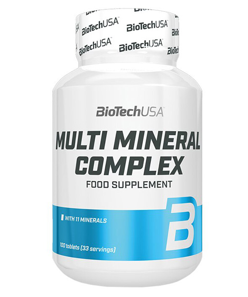 Multimineral Complex Biotech Nutrition