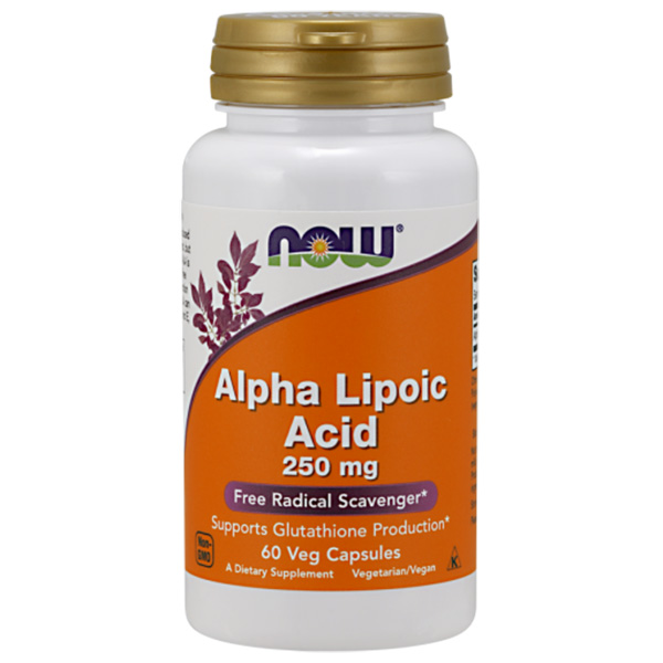 Alpha Lipoic Acid 250 mg NOW