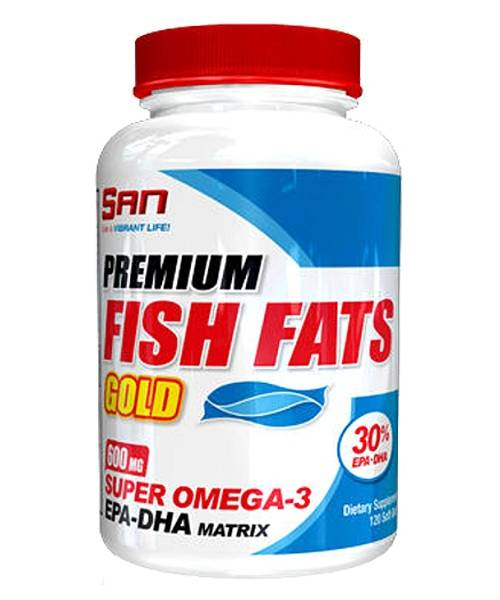 Fish Fats Gold SAN 120 капс.