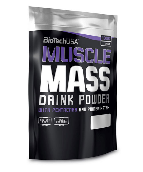 Muscle Mass Biotech Nutrition 1000 г