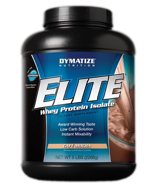 Elite Whey Protein Isolate Dymatize Nutrition 2 268 гр.