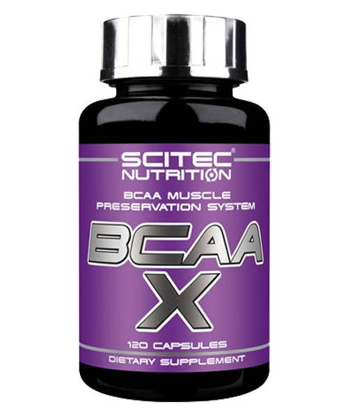 Bcaa X Scitec Nutrition 120 капс.
