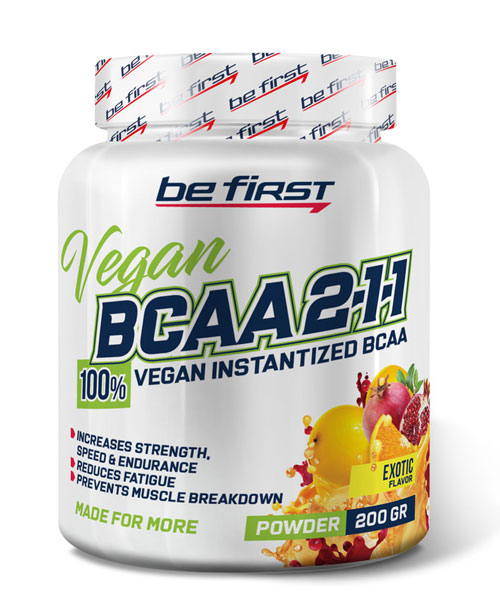 Bcaa 2:1:1 Vegan BE First