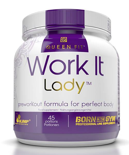 Work It Lady Olimp Sport Nutrition