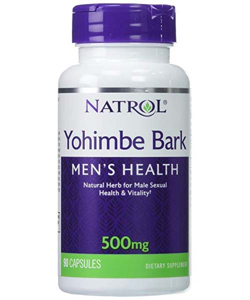 Yohimbe Bark 500 mg Natrol