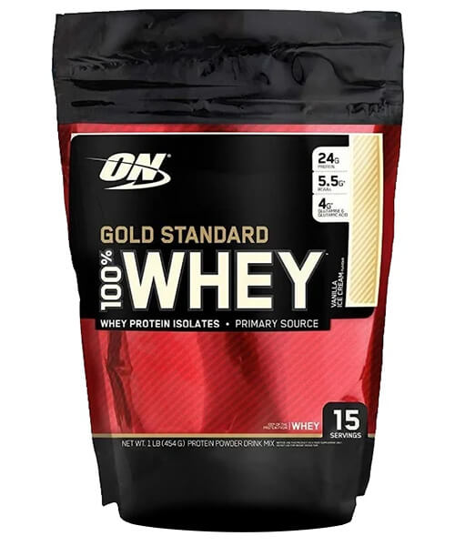 100% Whey Gold Standard Optimum Nutrition 454 г