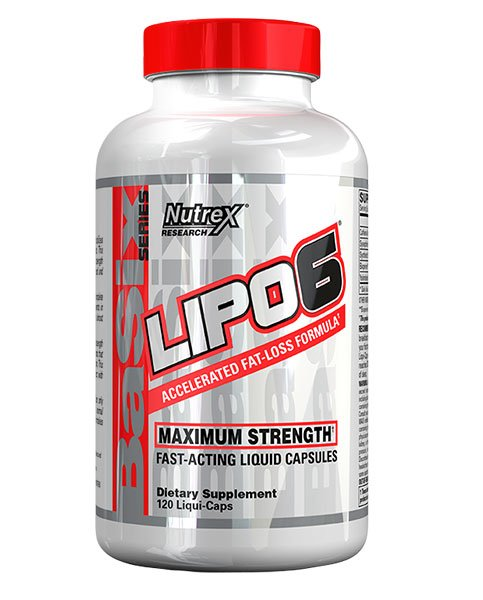 Lipo-6 Nutrex Research 120 капс.
