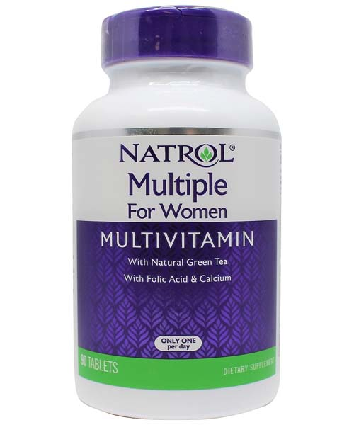 Multiple for Women Multivitamin Natrol 90 таб.