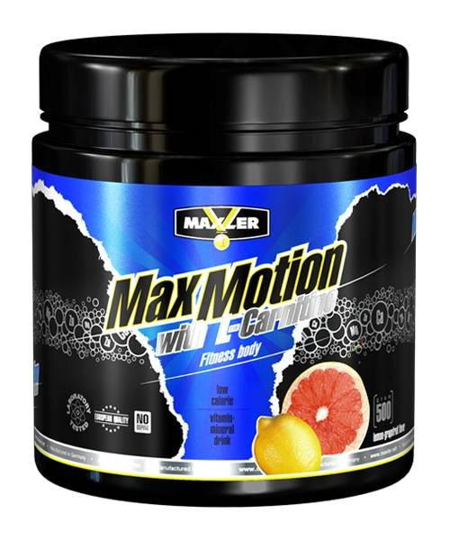 Max Motion With L-carnitine Maxler 500 г