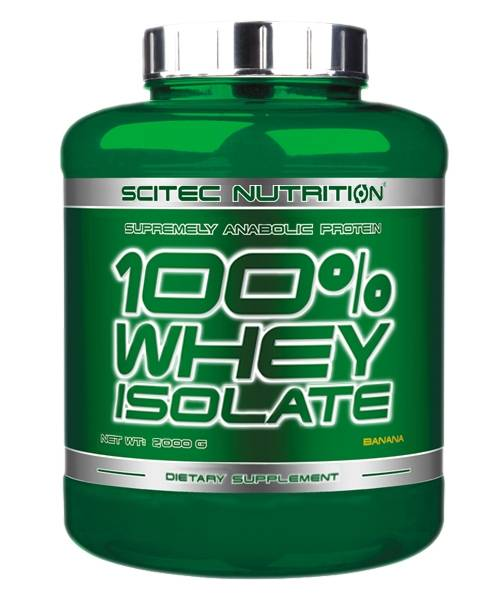 100% Whey Isolate Scitec Nutrition 2000 гр.