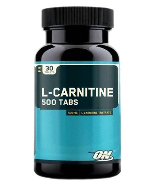 L-carnitine 500 Optimum Nutrition 30 таб.