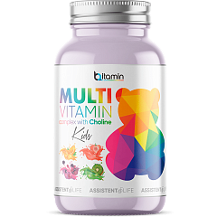 Multivitamin Kids With Choline Bitamin