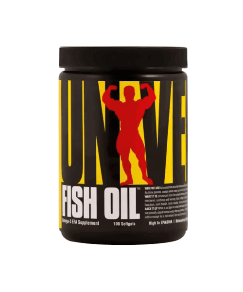Fish Oil Universal Nutrition 100 капс.