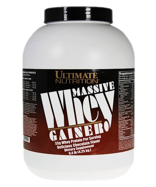 Massive Whey Gainer Ultimate Nutrition 4264 гр.