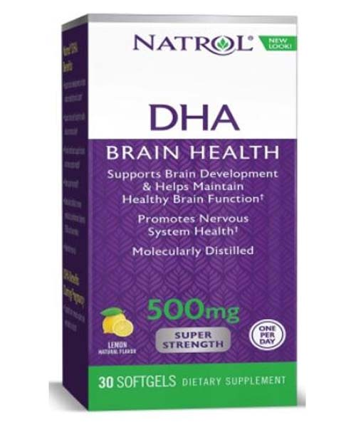 DHA 500 mg Super Strength Natrol