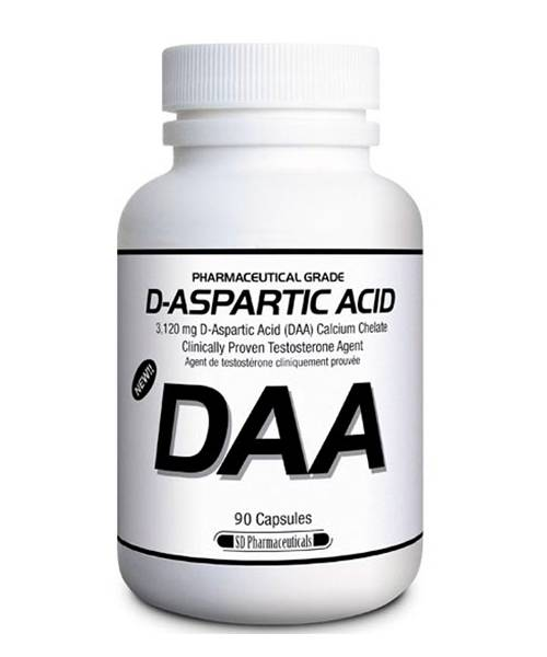 D-aspartic Acid SD Pharmaceutical 90 капс.