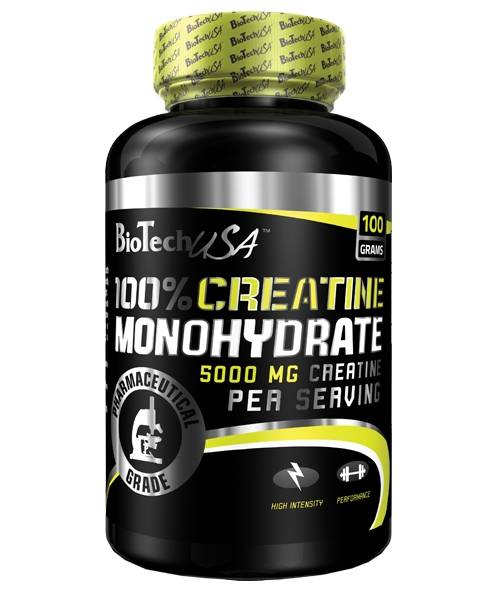 100% Creatine Monohydrate Biotech Nutrition 100 г