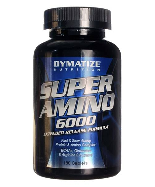 Super Amino 6000 Dymatize Nutrition 180 таб.