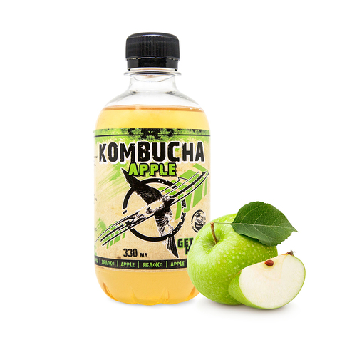 Яблоко Royal Kombucha 330 мл.