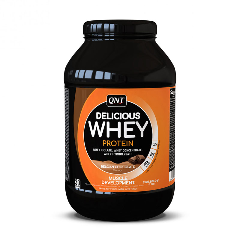 Delicious Whey Protein QNT 908 г